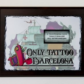 Premio Only Tattoo Barcelona 2017